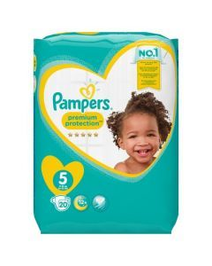 Pampers Premium Protection Taille 5 11-16 kg 20 Couches