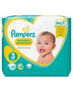 Pampers Premium Protection Taille 3 6-10 kg 29 Couches