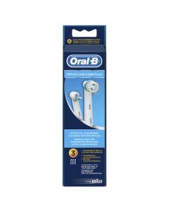 Oral-B Kit Orthodontique Brossettes Pour Brosses à Dents Electriques x3