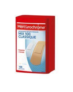 Mercurochrome Pansements Boîte Secours Multi-Usage 100 Unités