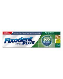 Fixodent Pro Plus Duo Protection Menthe Fraiche Crème Adhésive Premium Pour prothèses Dentaires 40 g