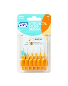 TePe Brossettes Interdentaires Original 0.45mm Orange 6 unités