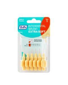 TePe Brossettes Interdentaires Extra Souples 0.45mm Orange 6 unités