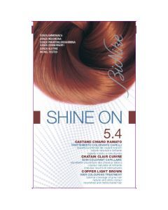 Bionike Shine On Shine On Soin Colorant Capillaire Châtain Clair Cuivre 5.4