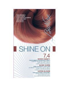 Bionike Shine On Shine On Soin Colorant Capillaire Blond Cuivre 7.4