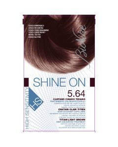 Bionike Shine On Shine On HS Soin Colorant Capillaire Châtain Clair Titien 5.64