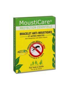 Mousticare Bracelet Anti-moustiques Blanc/Vert