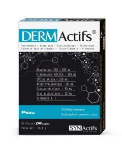 Synactifs Dermactifs Peau Hydratation 30 gélules