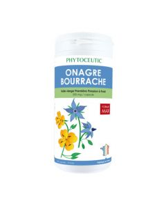 PHYTOCEUTIC Onagre/Bourrache 360 Capsules