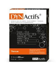 Synactifs Dynactifs Fatigue Tonus Vitalité 30 gélules