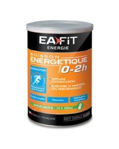 EAFIT Boisson Energétique 0-2H Saveur Menthe 500g