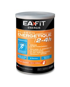 EAFIT Boisson Energétique 2-4H Saveur Orange Sanguine 500g