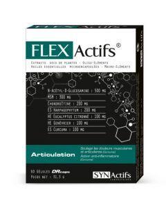 Synactifs Flexactifs Douleurs Musculaires Articulaires 60 gélules