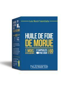 Nutrisanté Nutri'sentiel Huile de Foie de Morue 60 capsules