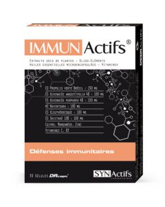 Synactifs Immunactifs Défenses 30 gélules