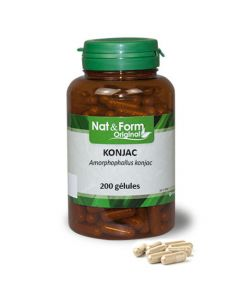 Nat&Form Konjac 200 Gélules