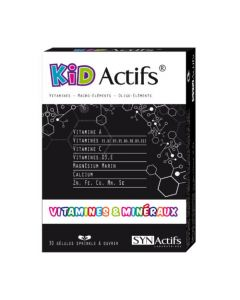 Synactifs Kidactifs Enfants 30 gélules