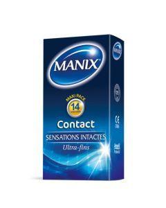 Manix Contact 14 Préservatifs