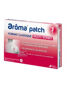 Aroma patch - Multi-zones Petit Format 3 patchs