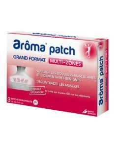 Aroma patch - Multi-zones Grand Format 3 patchs