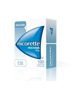 Nicorette Microtab 2mg 100 Comprimés Sublinguaux