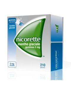 Nicorette Menthe Glaciale 2mg Sans Sucre 210 Gommes