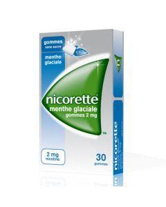 Nicorette Menthe Glaciale 2mg Sans Sucre 30 Gommes