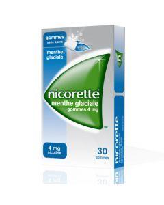 Nicorette Menthe Glaciale 4mg Sans Sucre 30 Gommes