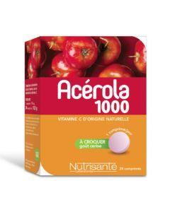 Nutrisanté Nutri'sentiel Acerola 24 comprimés
