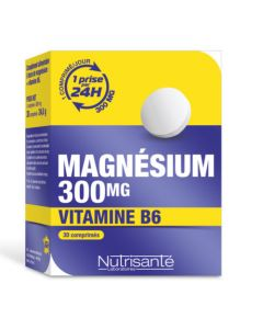 Nutrisanté Nutri'sentiel Magnésium 300mg 30 comprimés