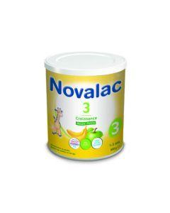 Novalac 3 Lait de Croissance Banane/Pomme 800g