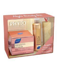 Phyto Coffret Noël Phytoelixir Masque 200ml + shampoing 200ml Offert + Crème Lavante 30ml Offert