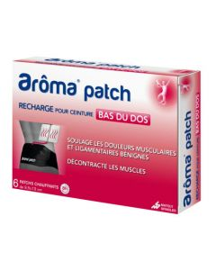 Aroma patch - Recharge ceinture 6 patchs
