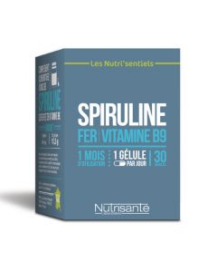 Nutrisanté Nutri'sentiel Spiruline 30 gélules
