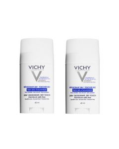 Vichy Déodorant Sans Sels d'Aluminium Duo Stick 2 X 40ml