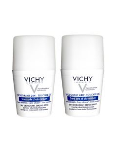 Vichy Déodorant Sans Sels d'Aluminium Roll-on Duo 2x50ml