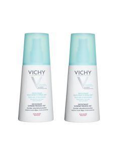 Vichy Déodorant Utra Frais 24h Parfum Fruité Duo Spray 2x100ml