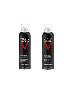 Vichy Homme Gel de Rasage Anti-irritations 150ml X2