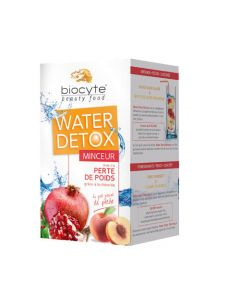 Biocyte Beauty Food Water Détox Minceur Pêche Pot 112g