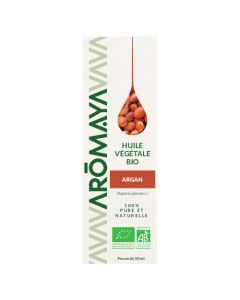 Aromaya Huile Végétale d'Argan Bio 50ml