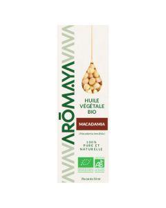 Aromaya Huile Végétale de Macadamia Bio 50ml