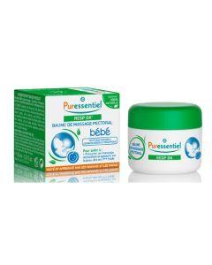 Puressentiel Baume de massage pectoral bébé Resp OK - 30 ml