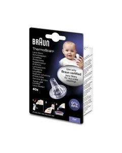 Braun Thermoscan Embouts Jetables 40 Embouts