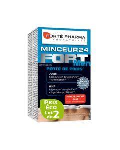 Forté Pharma Minceur 24 Fort Men Lot de 2x28 Comprimés