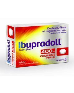 Sanofi Ibupradoll 400mg 12 Comprimés
