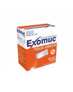 Exomuc poudre orale en sachet 200 mg