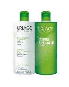 Uriage Eau Micellaire Thermale Peaux Mixtes à Grasses Duo 2x500ml