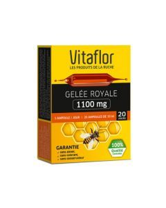 Vitaflor Gelée Royale 1100mg 20 Ampoules