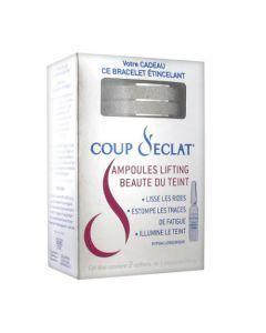 Coup d'Eclat l'Ampoule Lifting Immédiat Coffret 2x3 Ampoules + Bracelet Offert