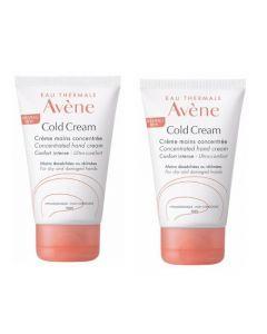 Avène Cold Cream Crème Mains Duo 2x50ml